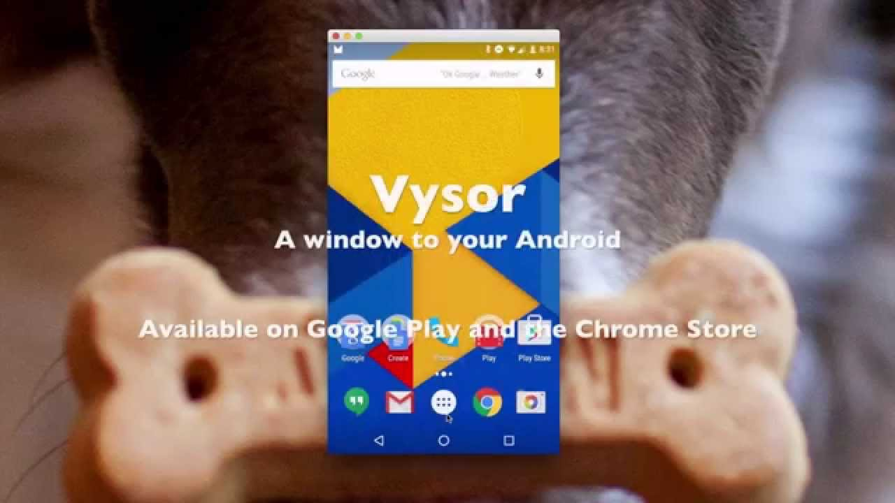 Controllare smartphone Android a distanza usando Vysor per Chrome