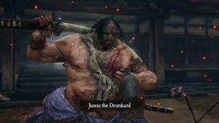 Sekiro: Shadows Die Twice - Juzou the Drunkard Boss Fight