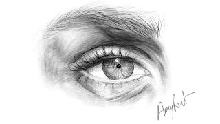Eye sketching tutorial