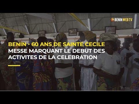 Bénin - 60 ans de Sainte Cécile : messe marquant le début des activités de la célébration
