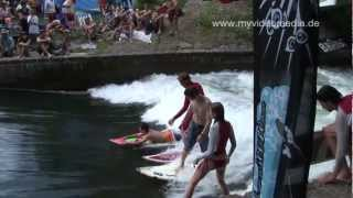 preview picture of video 'Citysurfen  München, Munich - Germany HD Travel Channel'