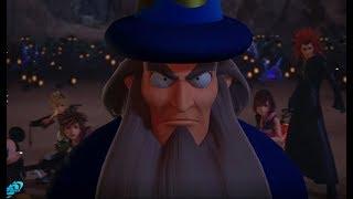 Yen Sid & Donald & Goofy Save Sora from The Heartless - Kingdom Hearts 3 KH3