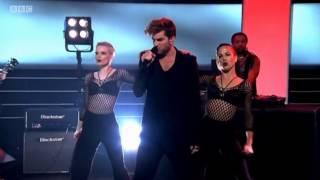 Adam Lambert - Ghost Town - UK Lottery Performance