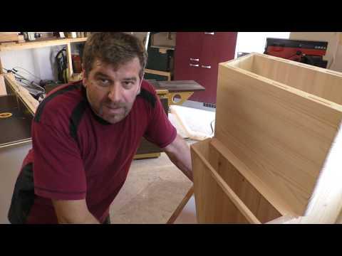Briefkasten aus Holz teil 2