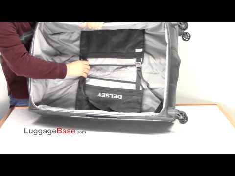 """Delsey Helium Pilot 3.0 29"""" Expandable Spinner Suiter Trolley"""