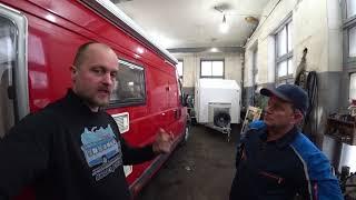 Как запихнуть прицеп дачу в фургон!? Автодом своими руками из Ситроен Джампер