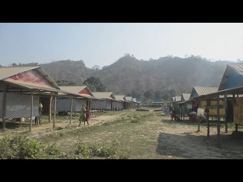Myanmar builds over destroyed Rohingya villages