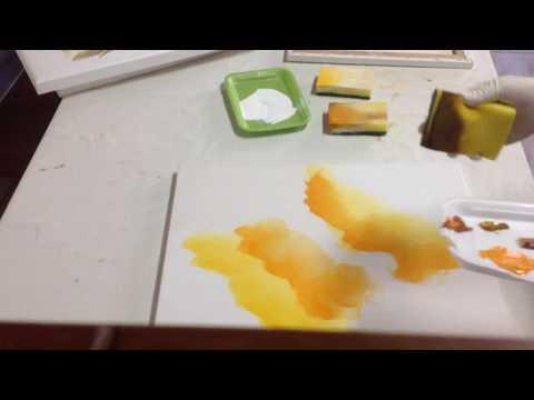 Telas com esponja
