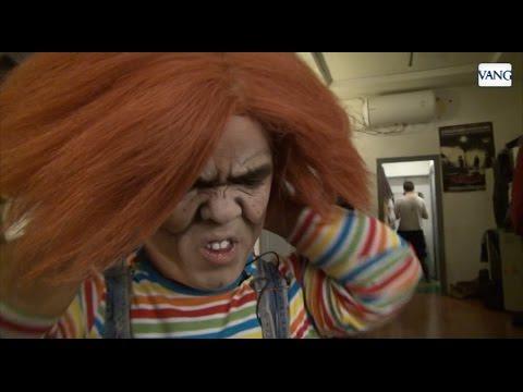 Así se transforma Rubén en Chucky