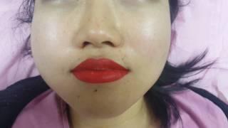 Lips shape restoration + Colour warm up Permanent Makeup by El Truchan