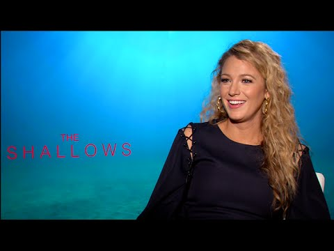 BLAKE LIVELY interview - THE SHALLOWS, DEADPOOL