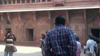 preview picture of video 'Jodha Bai Palace  in AGRA FORT .'