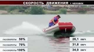 Как ведет себя Лодка 270 Мотор T 9.8 л.с.