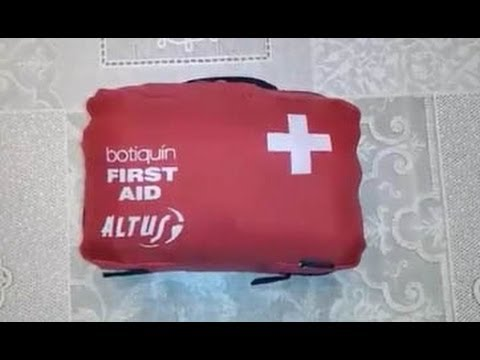 Botiquín de Primeros Auxilios / First Aid Kit