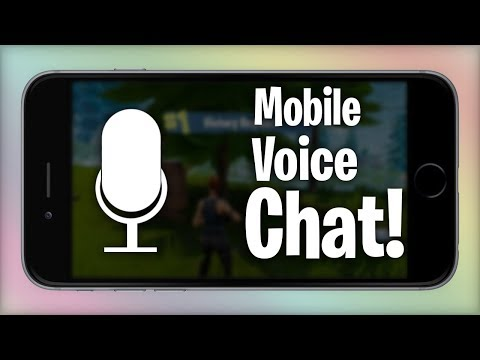 How to use voice chat on fortnite youtubefunvideo how to use voice chat on fortnite mobile ccuart Images