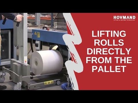 Hovmand - Handling of reels with boom or double boom Icon