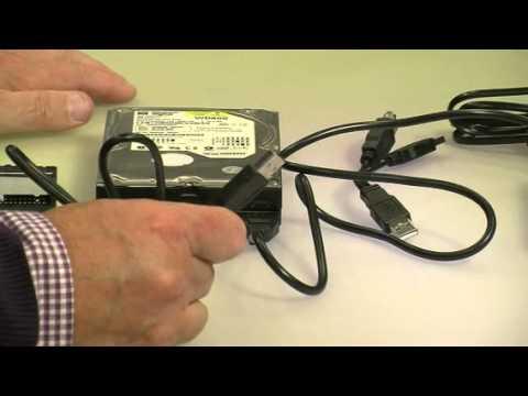 """Adapter IDE auf USB2.0 für 2,5""""/3,5""""-Festplatten + Netzteil von c-enter (PE-1443-821)"""