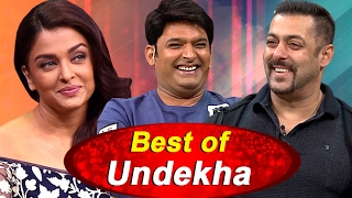 Salman Khan and Aishwarya Rai Bachchan in Best of Undekha | The Kapil Sharma Show | Sony LIV | HD