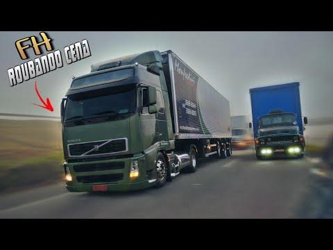 """""""FILMEI 3 Caminhões da Monfredi Transportes"""