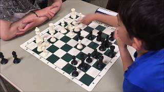 Gotta Be Careful When Playing Chess With 8 Year Old! Colin