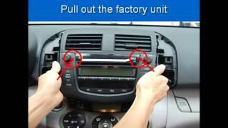 Installation Guide - Aftermarket Toyota RAV4 DVD GPS Radio