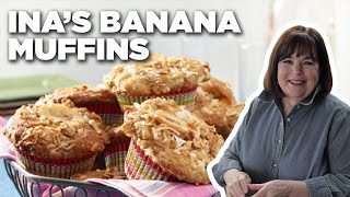 Barefoot Contessas 5-Star Banana Crunch Muffins | Food Network