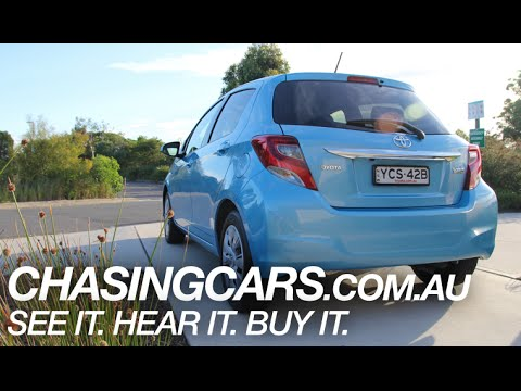 2015 Toyota Yaris Video Car Review – Australian Review