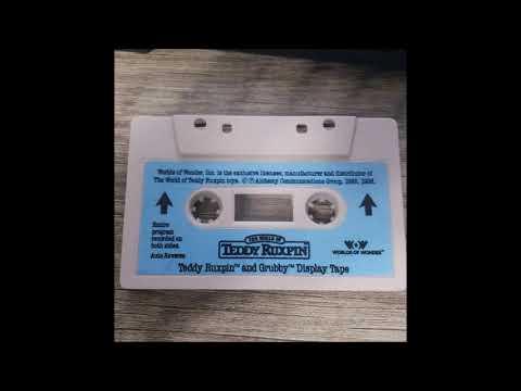 Teddy Ruxpin & Grubby Display Tape Audio