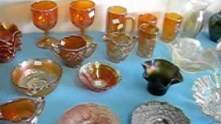 Carnival Glass For Sale At Carsons MONCTON FLEA MARKET