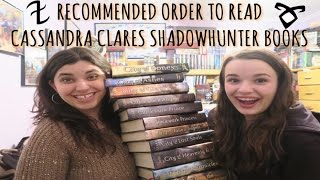 RECOMMENDED ORDER TO READ CASSIE CLARES SHADOWHUNTER BOOKS