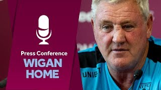 Press Conference: Wigan Athletic home