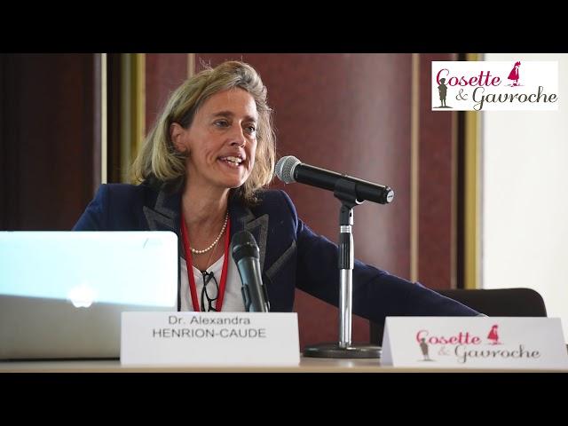 Docteur Alexandra Henrion-Caude: PMA et épigénétique
