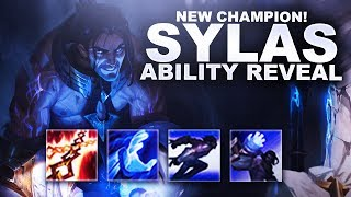 SYLAS NEW CHAMPION! ABILITY REVEAL! HE COPIES ULTIMATES!    League of Legends