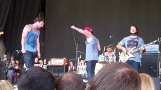 Dance Gavin Dance. Heat Seeking Ghost of Sex. live (warped 7/17/11)