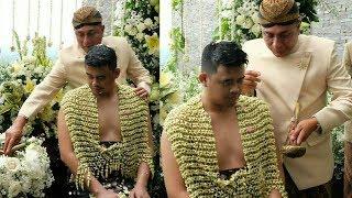 Air Siraman Bobby Nasution Tiba di Hotel Alila, Senyum Bobby Terpancar saat Jalani Prosesi Siraman