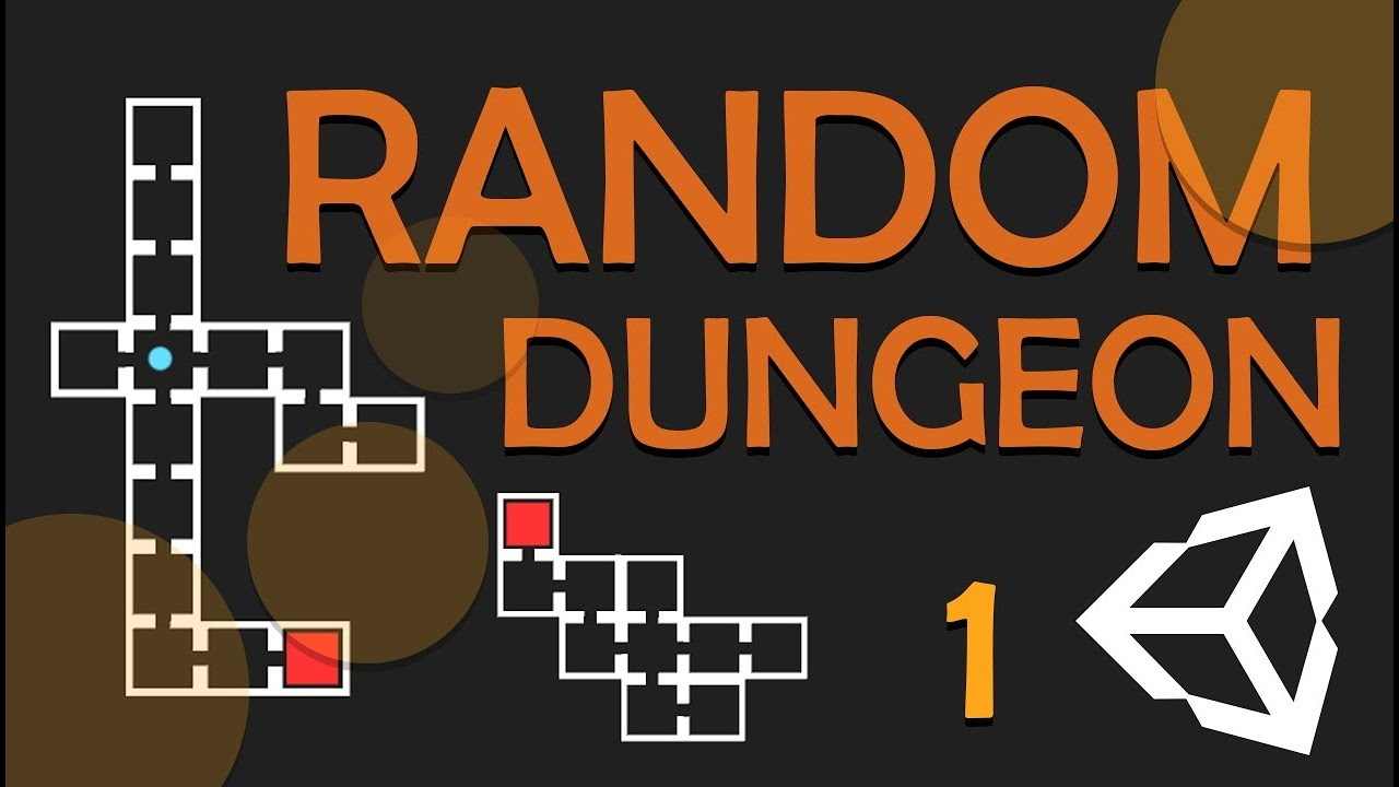 RANDOM DUNGEON GENERATOR - EASY UNITY TUTORIAL - #1