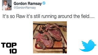 Top 10 Gordon Ramsay Twitter Roasts
