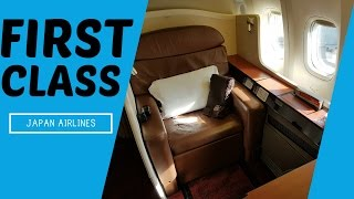 AMAZING Japan Airlines FIRST CLASS !