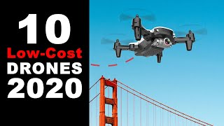 10 Low-Cost Drones for Beginners 2020 | SG107 4K FPV, LS11 foldable UAV, Domain R7, T49 Selfie Drone