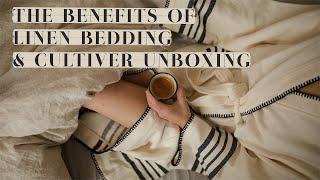 The Benefits Of Linen Bedding - Le Temps Dun Café