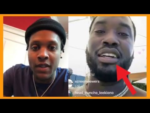"""Lil Durk WARNS Meek Mill """"Don't Come To CHICAGO Looking For Me"""""""