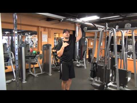 Eccentric Pullup Workout