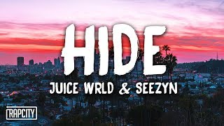 Juice WRLD, Seezyn - Hide (Lyrics) (Spider-Man: Into the Spider-Verse)