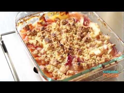 Peach Crumble | Everyday Food with Sarah Carey