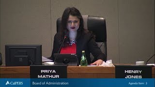 CalPERS Board of Administration Meetings February 2018