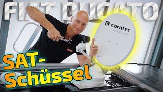 SAT-Anlage im Wohnmobil einbauen | Fiat Ducato | ARS24