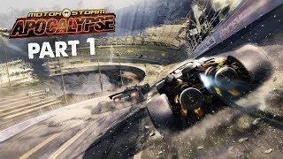 MotorStorm Apocalypse Walkthrough Part 1 - OLD SCHOOL | PS4 Pro Gameplay