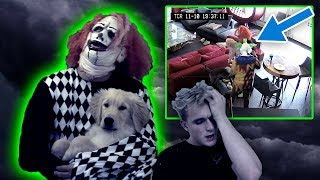 THE KILLER CLOWNS CAME BACK & STOLE THOR!! (SECURITY FOOTAGE)