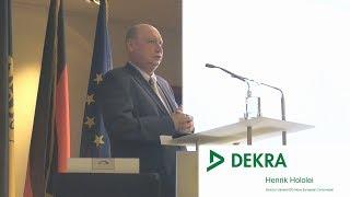 DEKRA - Verkehrssicherheitsreport 2018 - Henrik Hololei