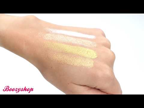 Revolution Pro Revolution Pro 4K Highlighter Palette Gold